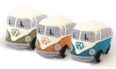 Hardicraft Haakpakket VW Busje Blauw