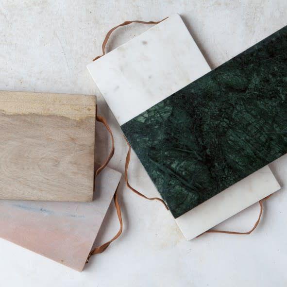 Tanet Marble Chopping Board Groen