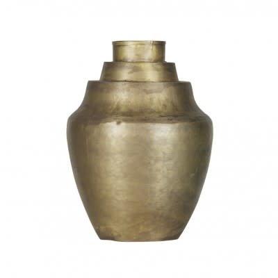 BePureHome Cheer vaas metaal antique brass