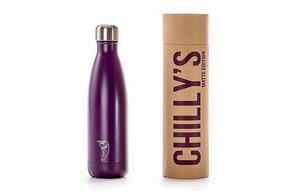 Chilly's Bottle 500ml Purple Matte