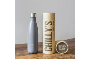 Chilly's Bottle 500ml Grey Matte