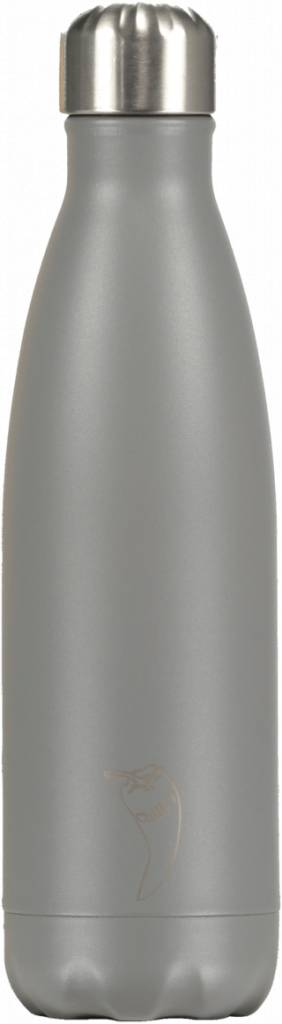 Chilly's Bottles Chilly's Bottle 500ml Grey Matte