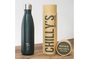 Chilly's Bottle 500ml Green Matte