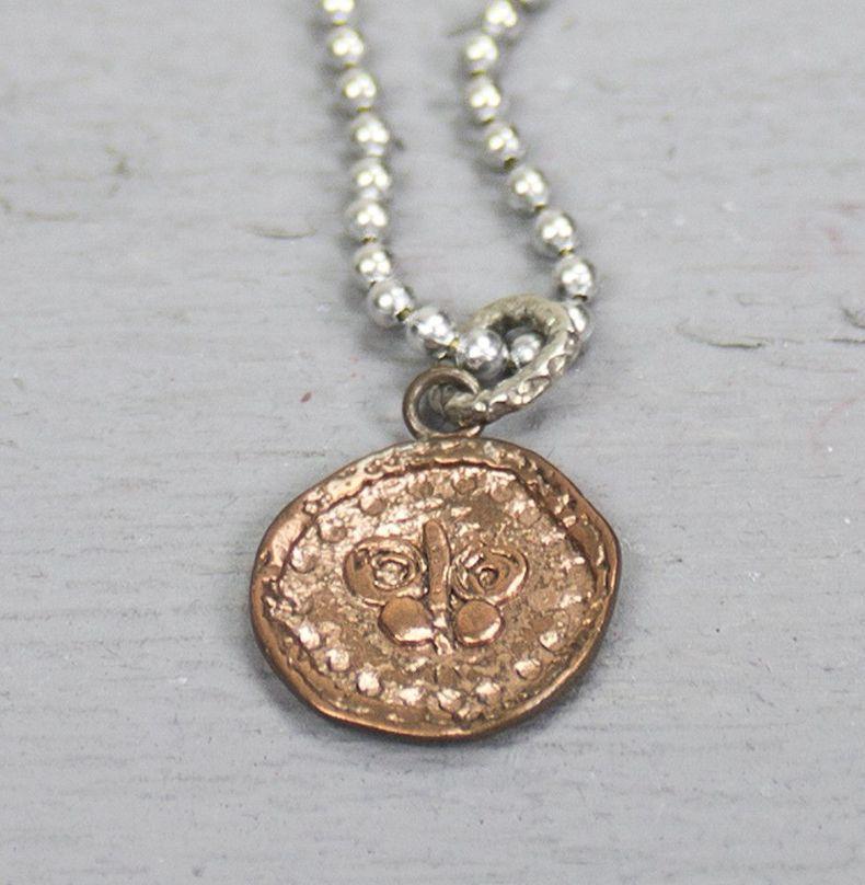 Jéh Jewels 18138 - Hanger zilver + rood koper