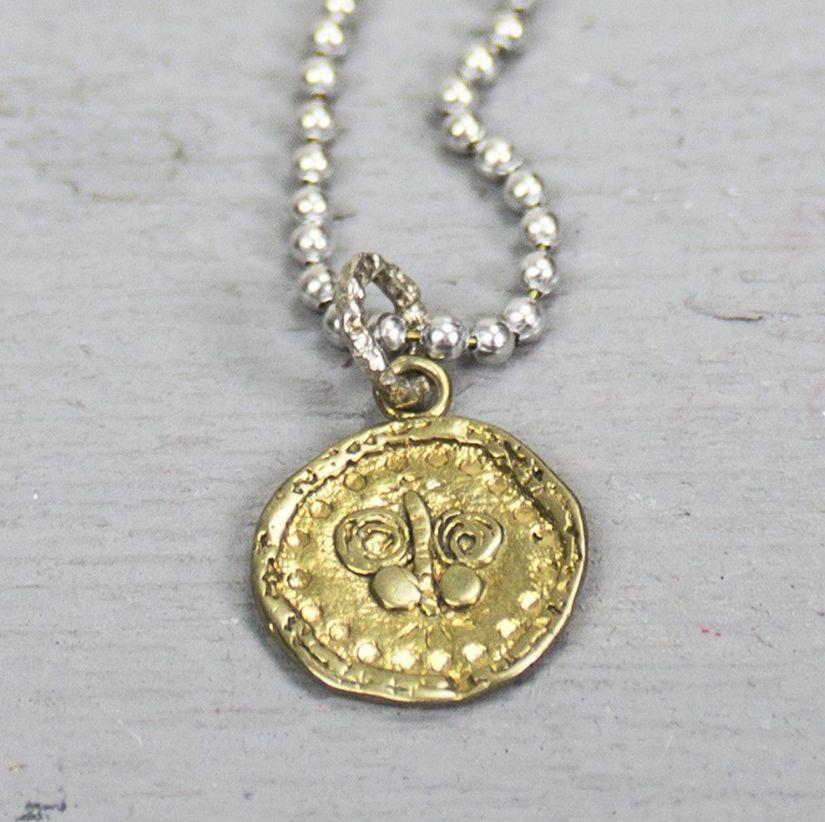 Jéh Jewels 18139 - Hanger zilver + messing