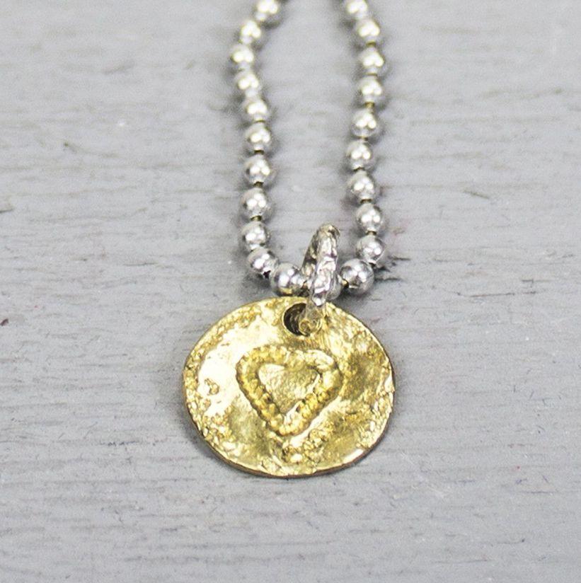 Jéh Jewels 18152 - Hanger zilver + messing