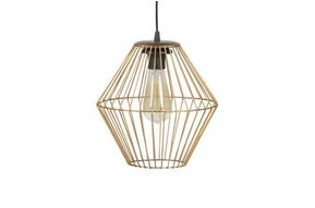 Elegant hanglamp Brass L
