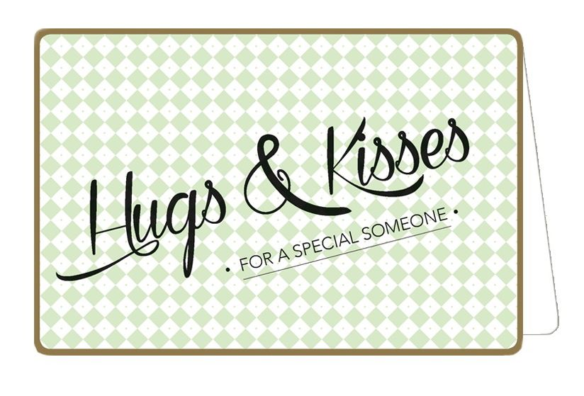 Enfant Terrible Kaart Nordic 918 hugs & kisses