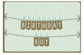 Kaart Nordic 988 birthday boy