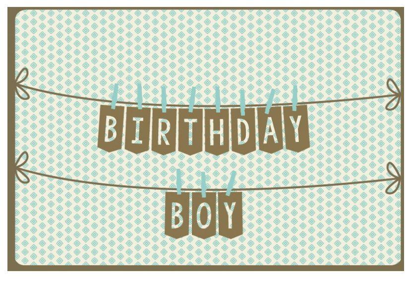 Enfant Terrible 988 Birthday boy