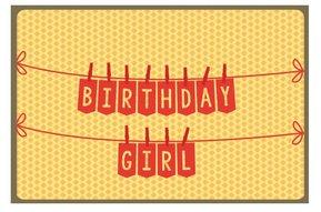 Kaart Nordic 989 birthday girl
