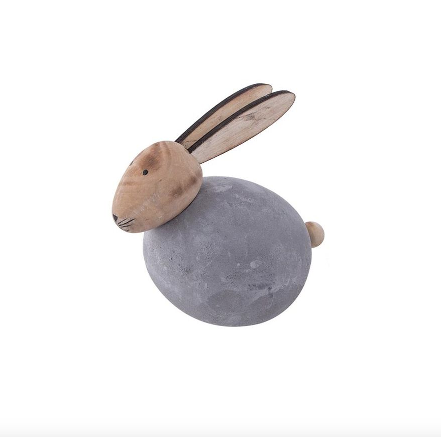 HOME SOCIETY Cement Rabbit L