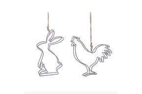 Metal Rabbit/Rooster ass 4