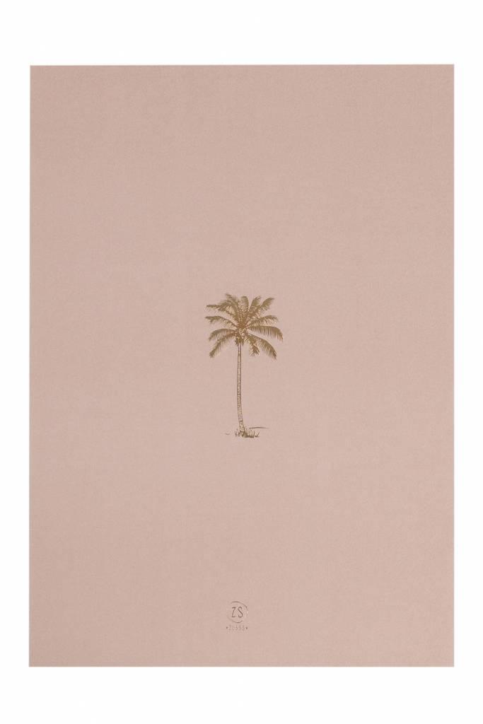 Zusss A3 poster van papier, Palmboom