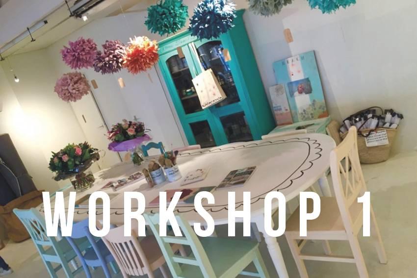 Annie Sloan Workshop verftechnieken 1  |  16 maart