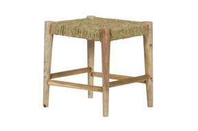 Wicker Kruk / Stool Naturel