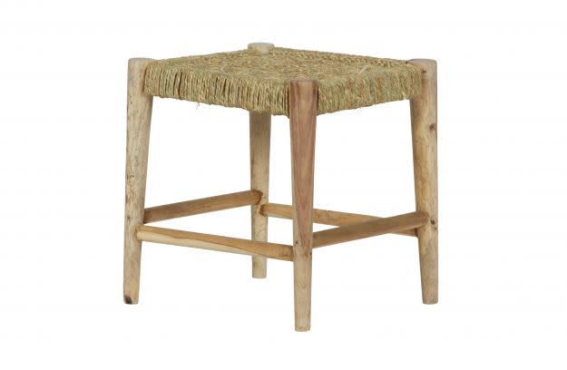BePureHome Wicker Kruk / Stool Naturel