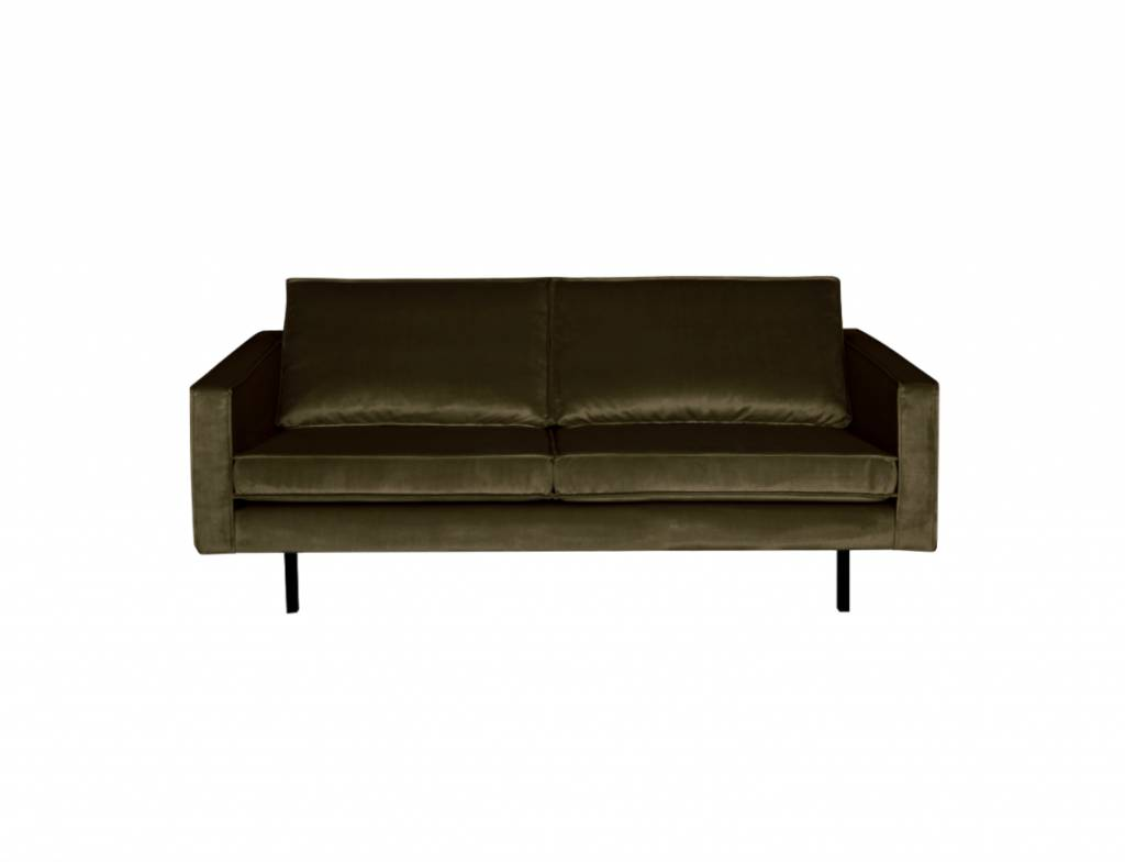 BePureHome Rodeo Bank 2,5-zits Velvet Dark Green Hunter