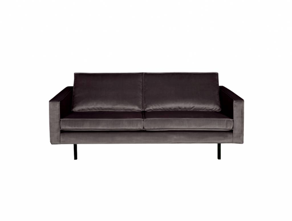 BePureHome Rodeo Bank 2,5-zits Velvet Antraciet