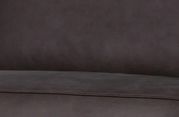 BePureHome Statement 4-zits bank 280 cm ecoleder grijs