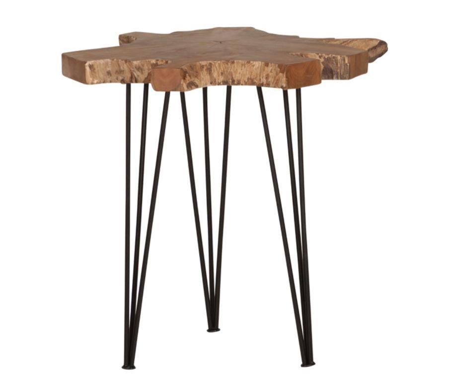 Tafel Timber 50x50 cm