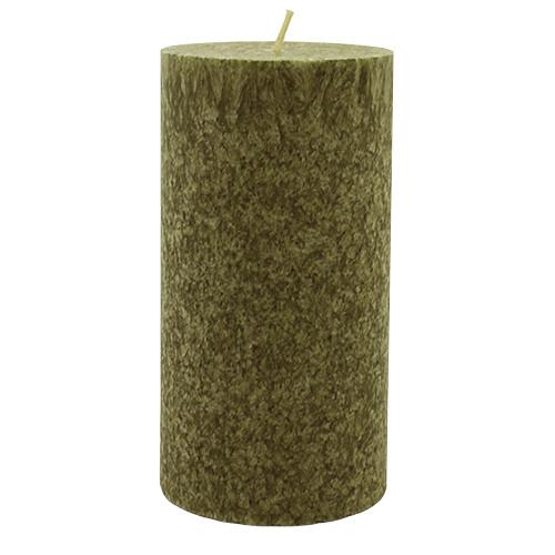My Flame Geurkaars Dark green, lavender