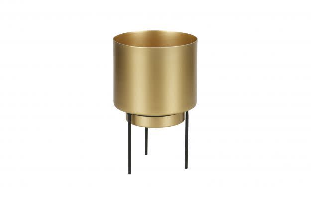 BePureHome Guus plant/pot ant. brass 11.5cm