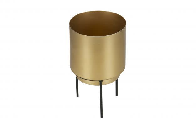 BePureHome Guus plnt/pot ant. brass 13cm