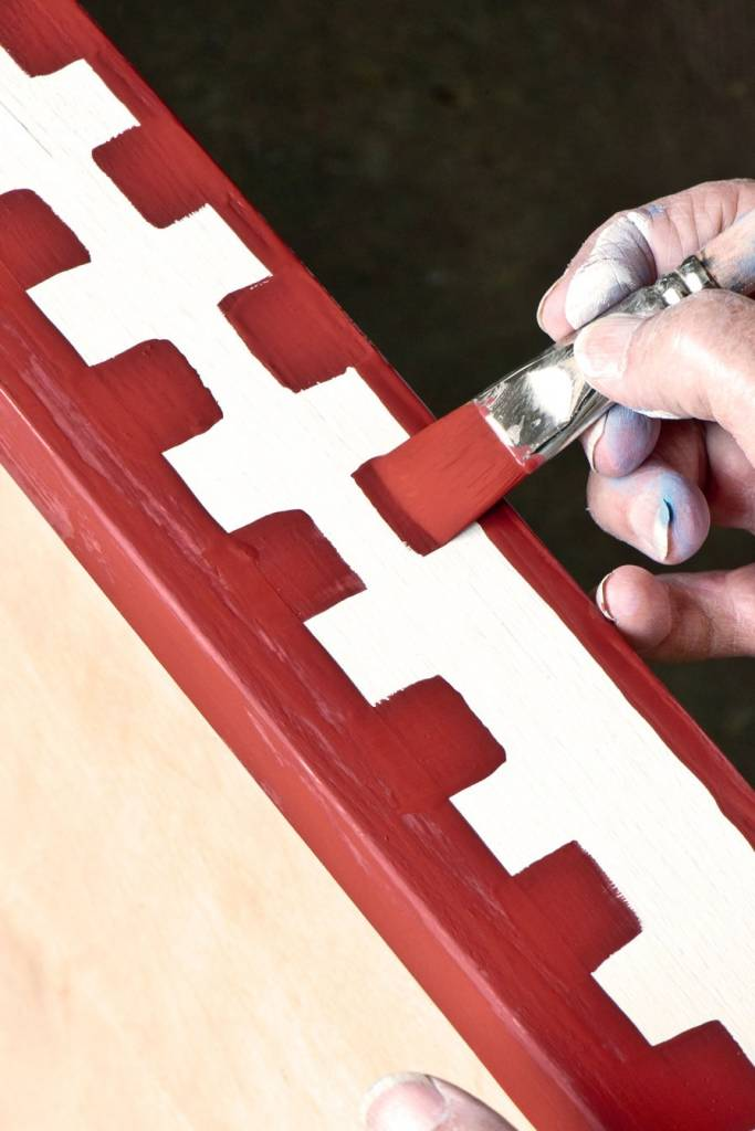 Annie Sloan Detail Brush Box, penseel