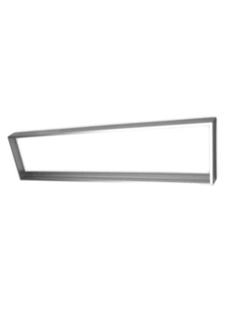 LS-Led [30x60] Ramme til LED panel 5 cm høj montering under loft (Aluminium)