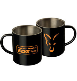 Fox Fox Stainless Black XL 400ml Mug