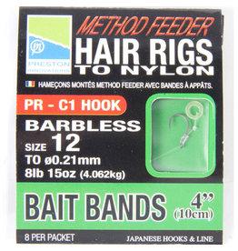 "Preston Preston 4"" Hair Rig Bait Band"