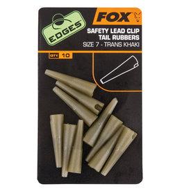 Fox Edges Fox Edges Lead Clip Tail Rubbers Khaki Size 7