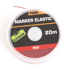 Fox Edges Fox Edges Marker Elastic 20m Red