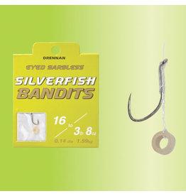 Drennan Drennan Silverfish Bandit Hooks to Nylon with Pellet Band