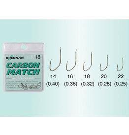 Drennan Drennan Carbon Match Micro Barbed Hooks