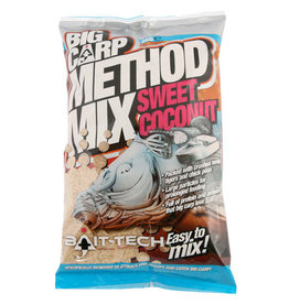 Bait-Tech Bait-Tech Big Carp Method Mix Sweet Coconut 3kg Camo Bucket