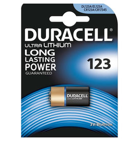 Duracell Duracell Ultra Lithium CR123A 2 pack