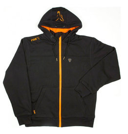Fox Fox Heavy Lined Black/Orange Hoody