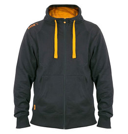 Fox Fox Black & Orange Lightwegiht Zipped Hoody