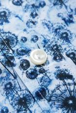 Eton Blue Dandelion Muslin shirt