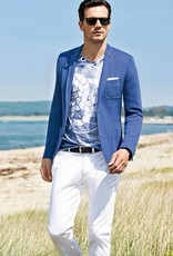 Roy Robson Slim fit French Blue Jersey Jacket