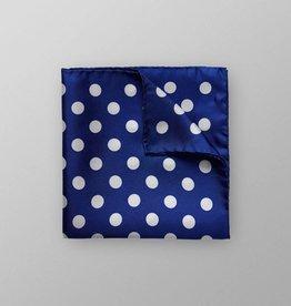 Eton Bold Spot Pocket Square