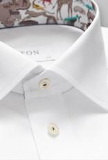 Eton White twill with safari trim