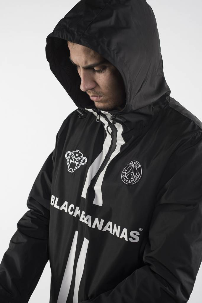 Black Bananas Black Bananas F.C. Windbreaker