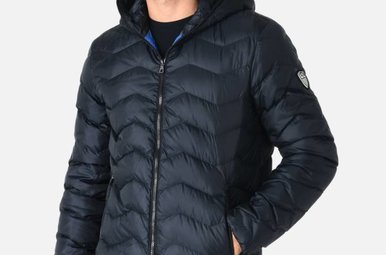 EA7 WINTERJACKET BLUE 6ypb15