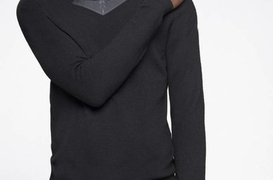 Fluorite sweater black