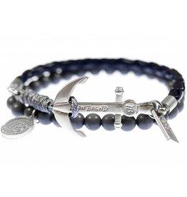 Icon brand Icon brand, Bracelet Silica, Black/Grey