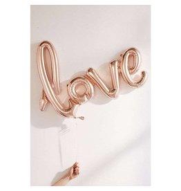 Love Balloon Large, Rose