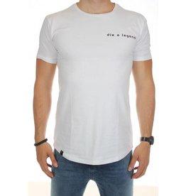 Distinct Distinct cotton, T-shirt Sport legends, White